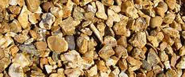 Golden Flint Chippings